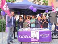 Cierre de campaña de Podemos en León