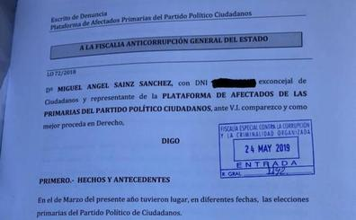 Afectados por las primarias de Ciudadanos presentan una denuncia ante la Fiscalía Anticorrupción