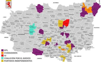 Solo 28 municipios se libran del bipartidismo, con 15 alcaldías para UPL