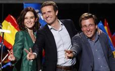 Gana el PSOE y Madrid salva a Casado