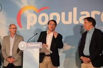 El presidente del PP valora los resultados de las elecciones