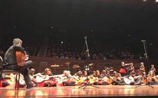 La Escuela de Música de Valverde de la Virgen cierra su año con el tradicional concierto de 'Fin de Curso' en el Auditorio
