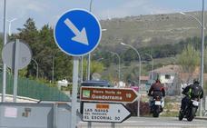 Alto riesgo en las rutas moteras de Ávila