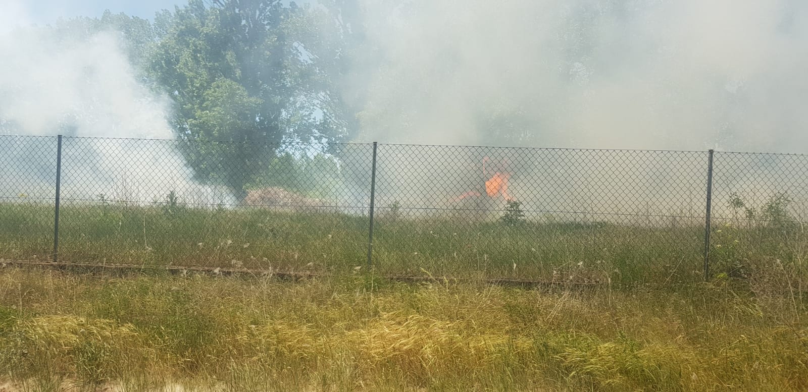 Fuego en Villaobispo