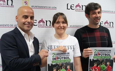 El II Congreso de Entrenadores de Fútbol de León contará con directores deportivos de Primera División