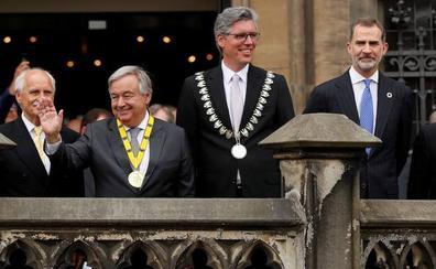 El Rey y Guterres reclaman más Europa ante los desafíos globales