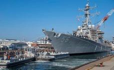 La Casa Blanca pidió «quitar de la vista» de Trump el destructor 'USS McCain'