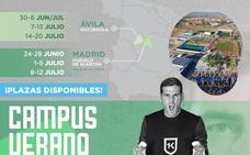 El Campus Iker Casillas, en Madrid y Ávila en junio y julio