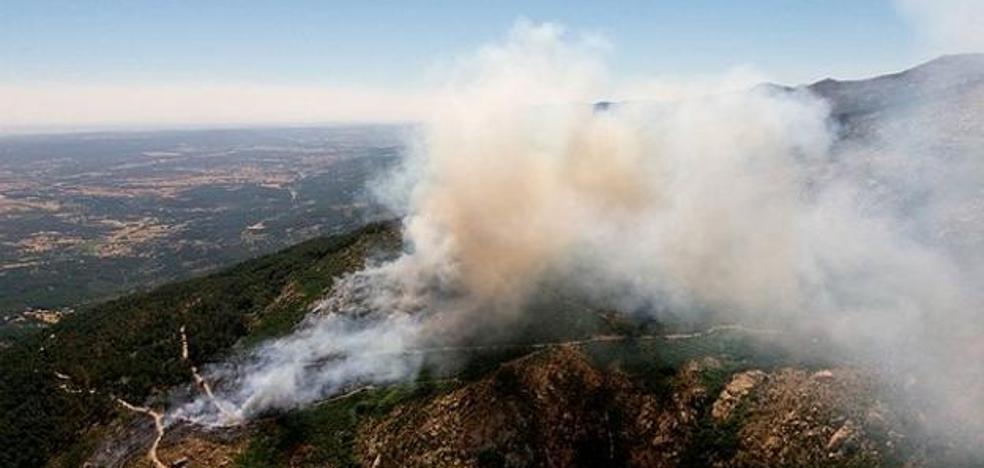 El aumento de las temperaturas eleva el riesgo de incendios forestales este fin de semana