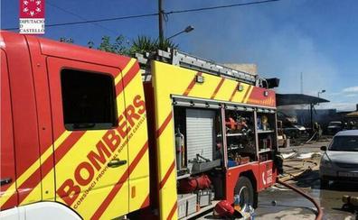 Ingresan a cinco personas tras el incendio en una residencia de mayores en Benicàssim