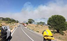 Desalojadas varias personas en el municipio de El Hoyo de Pinares (Ávila) por un incendio de nivel 2 que obliga a activar la UME