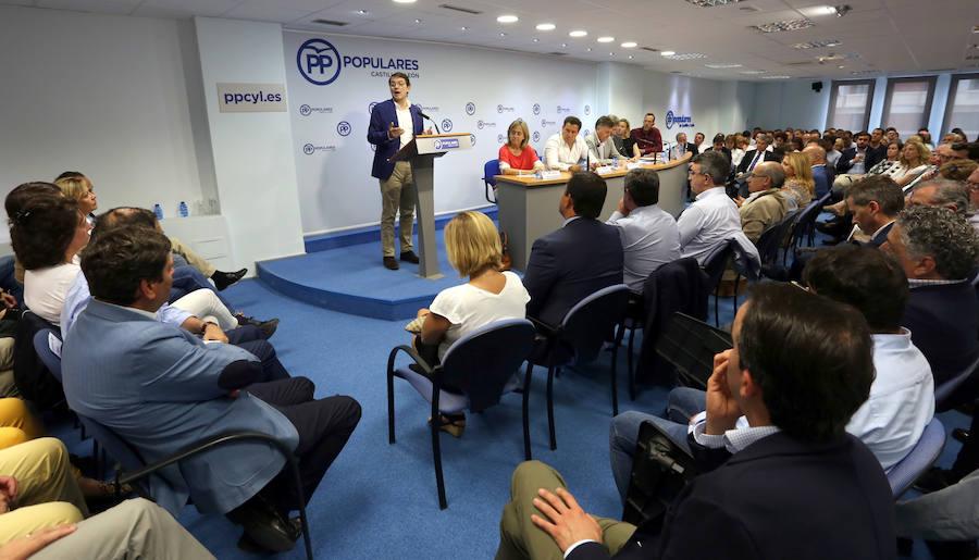 El presidente del PPCyL clausura la Junta Directiva Autonómica