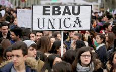 Educación se abre a reflexionar sobre la disparidad de la EBAU por autonomías pero descarta la prueba única