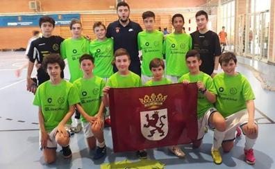 Cuatro equipos leoneses participarán en el Campeonato de España de fútbol sala de base