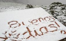 León, nieva en junio