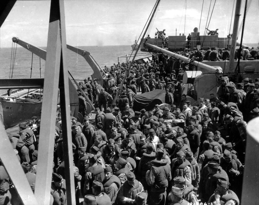 75 años del Desembarco de Normandía