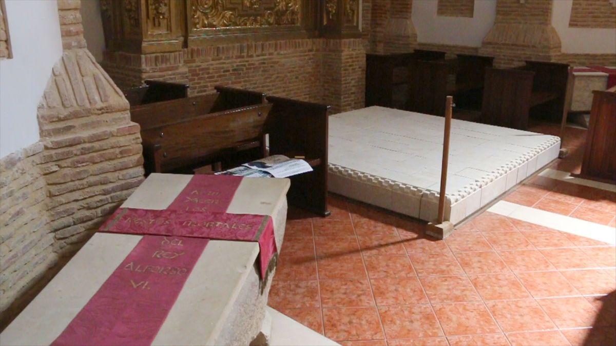 El rey Alfonso VI ya puede descansar entre honores