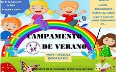 Un campamento de ensueño en el parque infantil Mundo Aventura