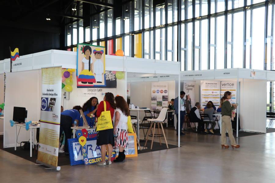 España y Colombia unen lazos en León