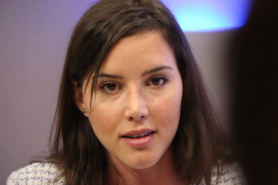 Andrea Fernández, la diputada más joven del PSOE, en leonoticias