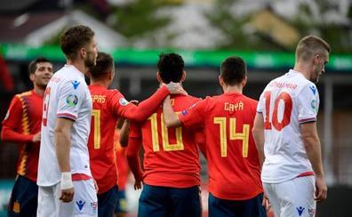 España entra en calor ante Islas Feroe