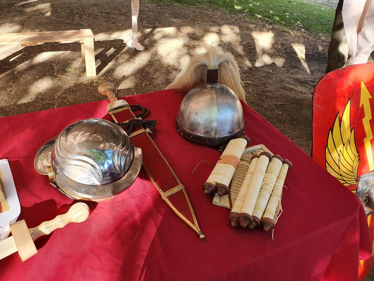Inauguración campamento romano