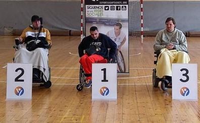 Dos leoneses del Club Deporte Adaptado se cuelan en el Campeonato de España de Boccia