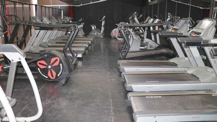 Las instalaciones del nuevo gimnasio CAF