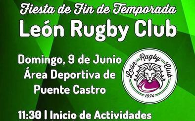 El León Rugby León concluye la temporada con una fiesta de convivencia