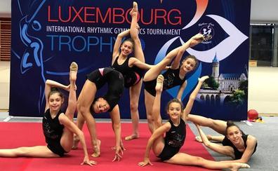 Seis gimnastas del Ritmo buscan brillar en el Luxembourg Trophy