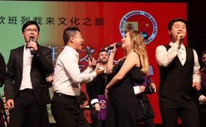 Acordes leoneses en la ciudad china de Yiwu