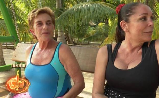 La polémica despedida entre Isabel Pantoja y Chelo García-Cortés