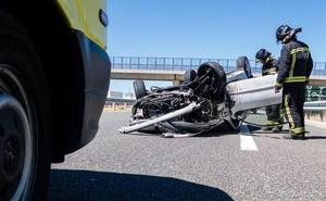Las víctimas mortales en la carreteras de Castilla y León se reducen más de un tercio en los cinco primeros meses del año