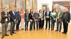 Exposición de la ULE en honor a Luis García Zurdo