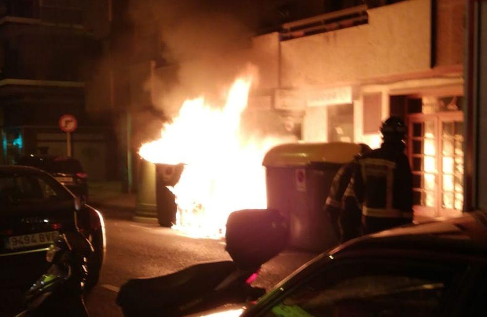 Incendio en Lucas de Tuy