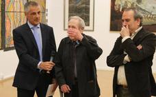 Inaugurada con gran éxito la muestra que la ULE dedica a García Zurdo
