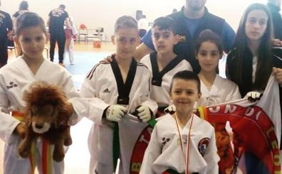 Cinco medallas para el Club Taekwondo León en el Autonómico