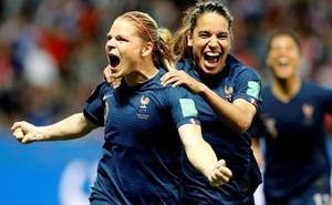 Francia da un paso de gigante a octavos tras ganar a Noruega