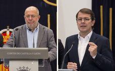 Los ayuntamientos de Burgos y Palencia y la diputación burgalesa y segoviana, exigencias de Cs para investir a Mañueco