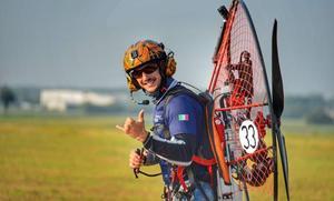 El leonés Víctor Rodríguez consigue su mejor puntuación en un campeonato internacional de paramotor