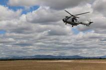 Ejército militar en el Aeródromo de León
