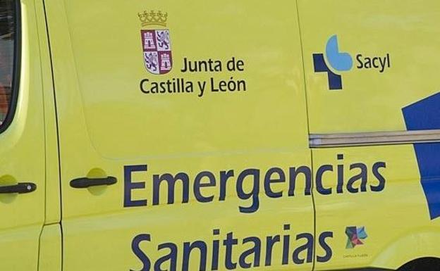 Un herido en el choque de cuatro vehículos por alcance en Villoria de Órbigo