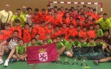 El equipo RBH GLOBAL benjamín se proclama campeón de España de fútbol sala