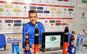 Jon García advierte que la Ponferradina saldrá «con el rodillo» ante Cartagena