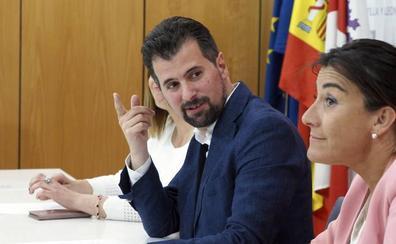 Tudanca: «PP y Cs han traicionado y suspendido la autonomía de Castilla y León»