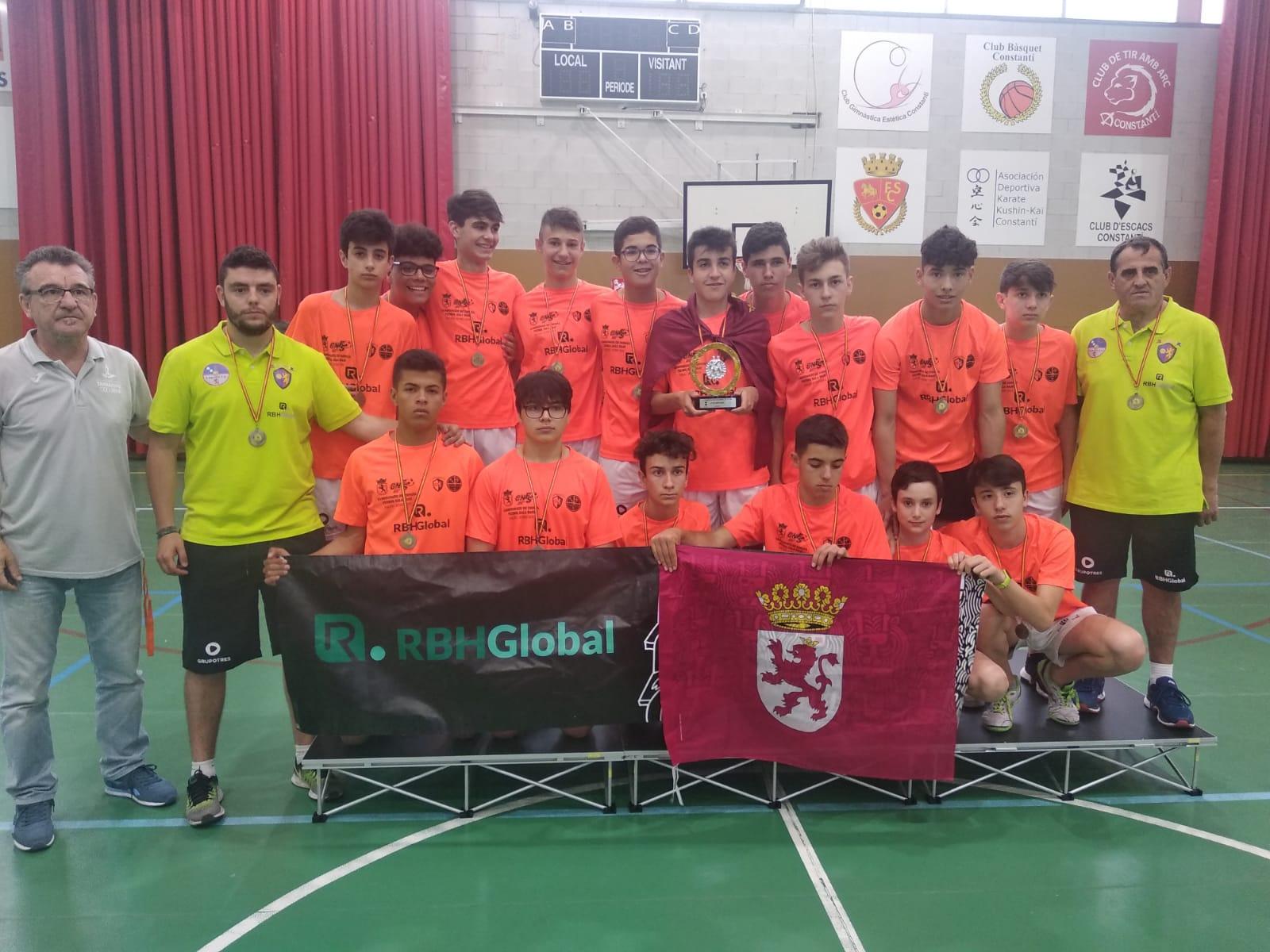 El equipo RBH GLOBAL benjamín se proclama campeón de España