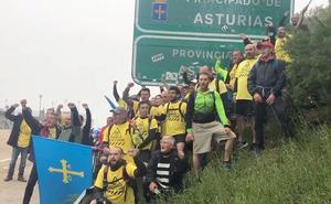 La 'Marcha del aluminio' entra en León