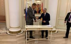 La Cámara de Comercio de Astorga inicia la andadura para exportar productos agroalimentarios en el distrito ruso de Kolomna