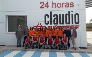 Gadisa inaugura en una estación de servicio de Camponaraya un Claudio Express que abre las 24 horas los 365 días del año