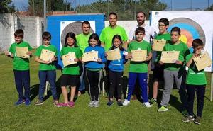 Escuela Municipal de Tiro con Arco de Astorga celebra su fiesta de fin de curso